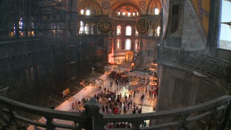 The-spacious-of-the-famouns-of-Hagia-Sophia-Mosque-in-Istanbul-Turkey-1