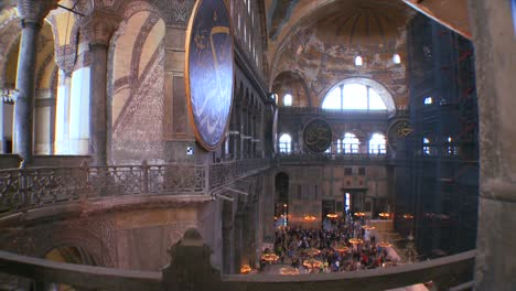 The-spacious-of-the-famouns-of-Hagia-Sophia-Mosque-in-Istanbul-Turkey-2