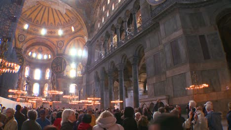 The-spacious-of-the-famous-of-Hagia-Sophia-Mosque-in-Istanbul-Turkey-3