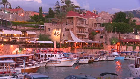 The-beautiful-and-historic-fishing-village-of-Byblos-on-the-coast-of-Lebanon