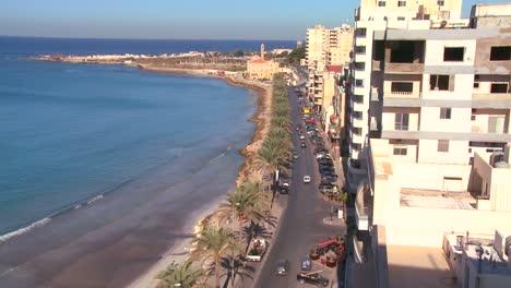 A-view-along-the-main-corniche-at-Tyre-Lebanon