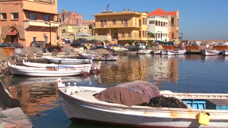 The-fishing-village-of-Tyre-Lebanon-with-boats-in-foreground
