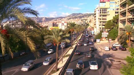 Traffic-clogs-the-roads-of-Beirut-Lebanon-3