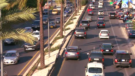 Traffic-clogs-the-roads-of-Beirut-Lebanon-5
