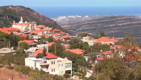 Christian-village-in-the-hills-of-Lebanon