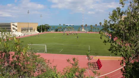 The-athletic-field-at-the-American-University-Of-Beirut-in-Lebanon