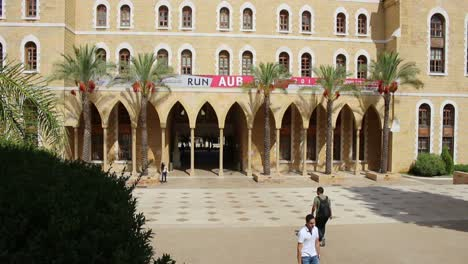 Administration-buildings-at-the-American-University-of-Beirut-in-Lebanon
