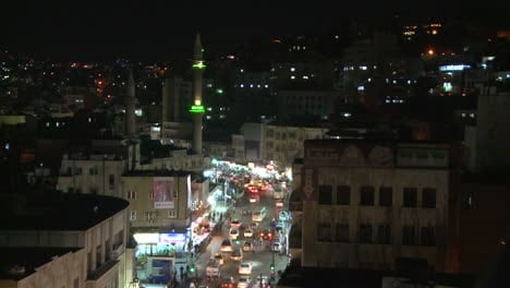 A-high-angle-night-view-over-traffic-in-downtown-Amman-Jordan-1