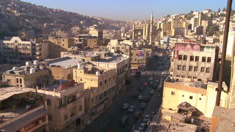 High-angle-morning-view-of-Amman-Jordan