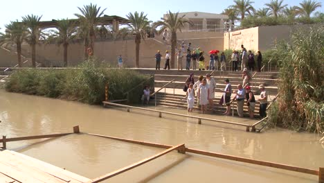 A-modern-baptism-site-for-Christians-along-the-Jordan-River-in-Israel