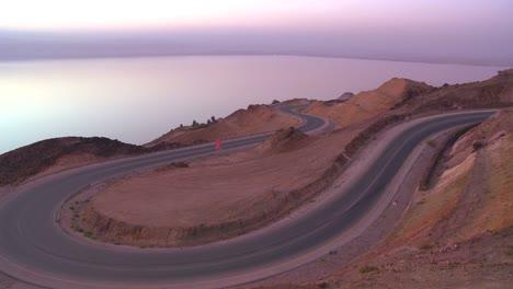 A-winding-road-near-the-Dead-Sea-in-Jordan