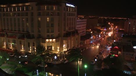 Una-Foto-Nocturna-De-Aqaba-Jordania-