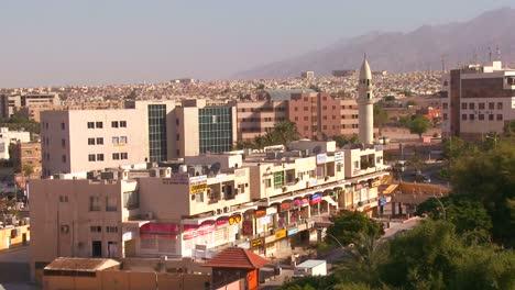 Una-Foto-Diurna-De-Aqaba-Jordania-