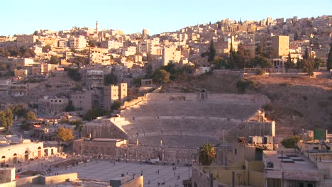 A-Roman-amphitheater-in-downtown-Amman-Jordan