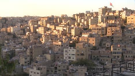 Houses-cluster-together-on-the-hillsides-of-Amman-Jordan