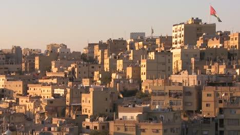 Houses-cluster-together-on-the-hillsides-of-Amman-Jordan-1