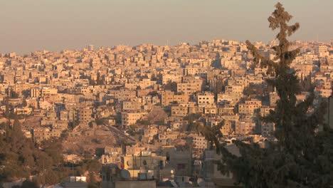 A-wide-shot-of-neighborhoods-near-Amman-Jordan