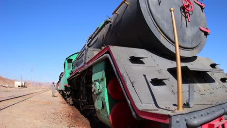 An-old-Turkish-steam-train-used-in-the-movie-Lawrence-of-Arabia-sits-in-the-Saudi-desert-of-Wadi-Rum-Jordan-2