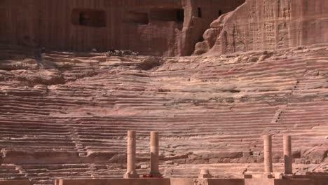 Sheep-and-goats-walk-around-the-ancient-amphitheater-in-Petra-Jordan