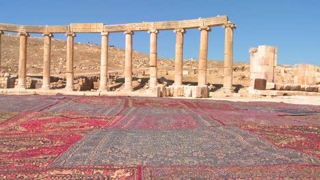 Die-Römischen-Ruinen-Von-Jerash-In-Nordjordanien-1