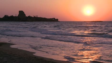 A-beautiful-coastline-of-Israel-near-Tel-Aviv-and-Haifanea