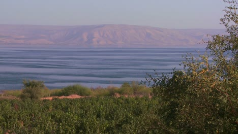 Establishing-shot-of-the-Sea-of-Galilee-in-israel