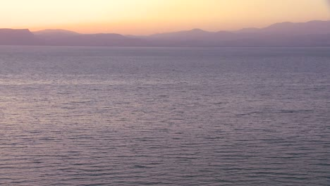 Dusk-over-the-Sea-Of-Galilee-in-Israel