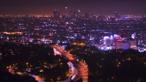 A-high-angle-view-over-Los-Angeles-from-the-Hollywood-Hills-1