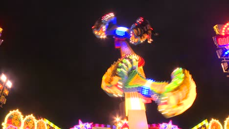 A-tilt-a-whirl-type-ride-at-an-amusement-park-or-carnival