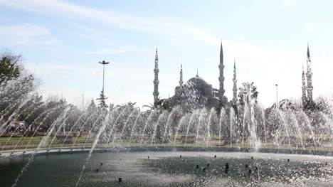 Blue-Mosque-Fountain
