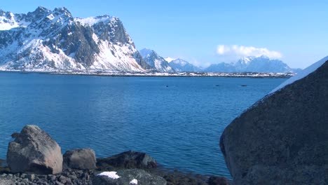 Gorgeous-wintertime-fjords-north-of-the-Arctic-Circle-in-Lofoten-Islands-Norway-3