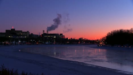 Downtown-Winnipeg-Manitoba-Canada-at-dusk-7