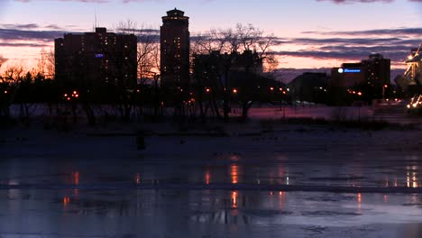 Downtown-Winnipeg-Manitoba-Canada-at-dusk-9