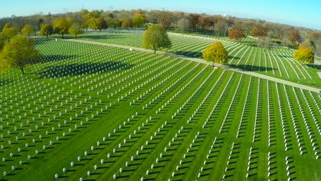 An-aerial-over-a-vast-cemetery-of-headstones-honors-Americas-veterans-3