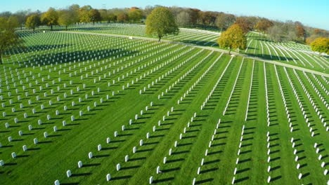 An-aerial-over-a-vast-cemetery-of-headstones-honors-Americas-veterans-4