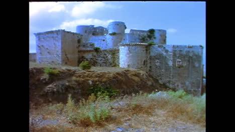El-Castillo-Crusdaer-De-Crac-De-Chevaliers-En-Siria-En-1996