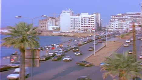 Establecimiento-De-Tiro-De-Beirut-Líbano-Con-Tráfico