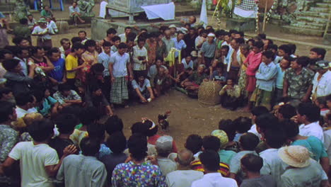 Villagers-in-Bali-Indonesia-engage-in-cockfighting-between-roosters