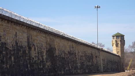 Establishing-shot-of-the-defunct-old-Joliet-prison-near-Chicago-Illinois-4