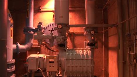 A-pump-runs-inside-of-a-water-treatment-facility