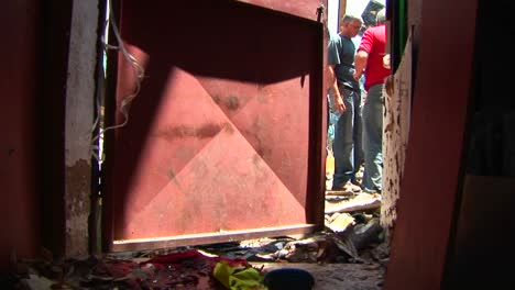 Debris-litters-the-floor-of-a-building-in-Haifa-Israel