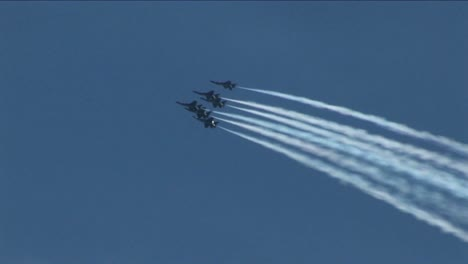 Six-Blue-Angels-jets-fly-in-formation