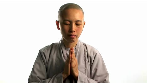 A-young-Buddhist-monk-prays