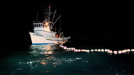 A-fishing-vessel-spreads-out-a-net