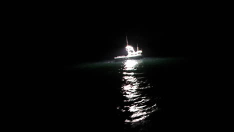 A-fishcutter-works-at-night-in-the-open-seas