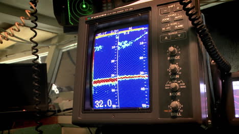 A-sea-vessel-uses-a-piece-of-sonar-equipment