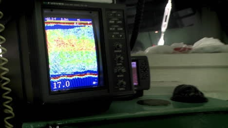 A-fishing-vessel-uses-a-sonar-device-to-find-fish