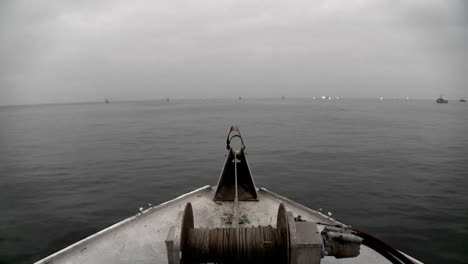 Several-boats-navigate-in-open-waters
