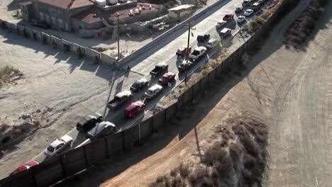Coches-Atascados-En-Un-Atasco-En-Una-Autopista