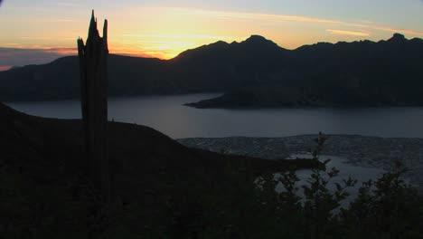 Un-Muñón-Roto-Se-Encuentra-En-Silueta-Contra-Un-Cielo-Gris-En-El-Parque-Nacional-Mt-St-Helens